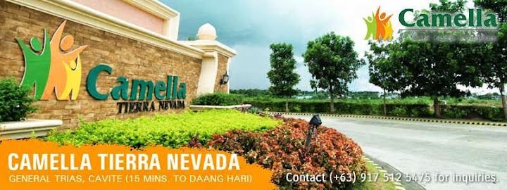 Community Overview - Camella Tierra Nevada | House and Lot for Sale in the Philippines