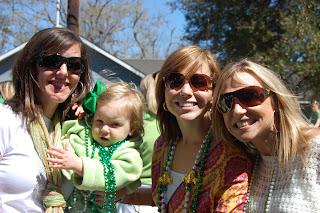 Family friendly fun at the St. Patrick's Day parade