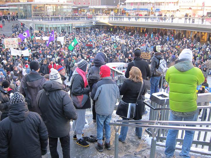 Christian Engströms ACTA-bilder