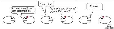 Balls - Sentimentos (tirinha)