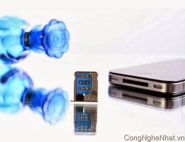 Sim ghép R-Sim8 unlock cho iphone 5/4S