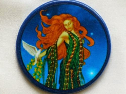 Aphrodite Goddess Talisman Amulet Witch Wicca By Eclecticenchantments