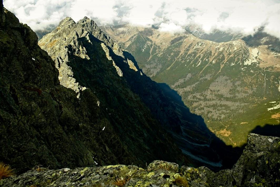 Dolina Hlińska z Hrubego Wierchu