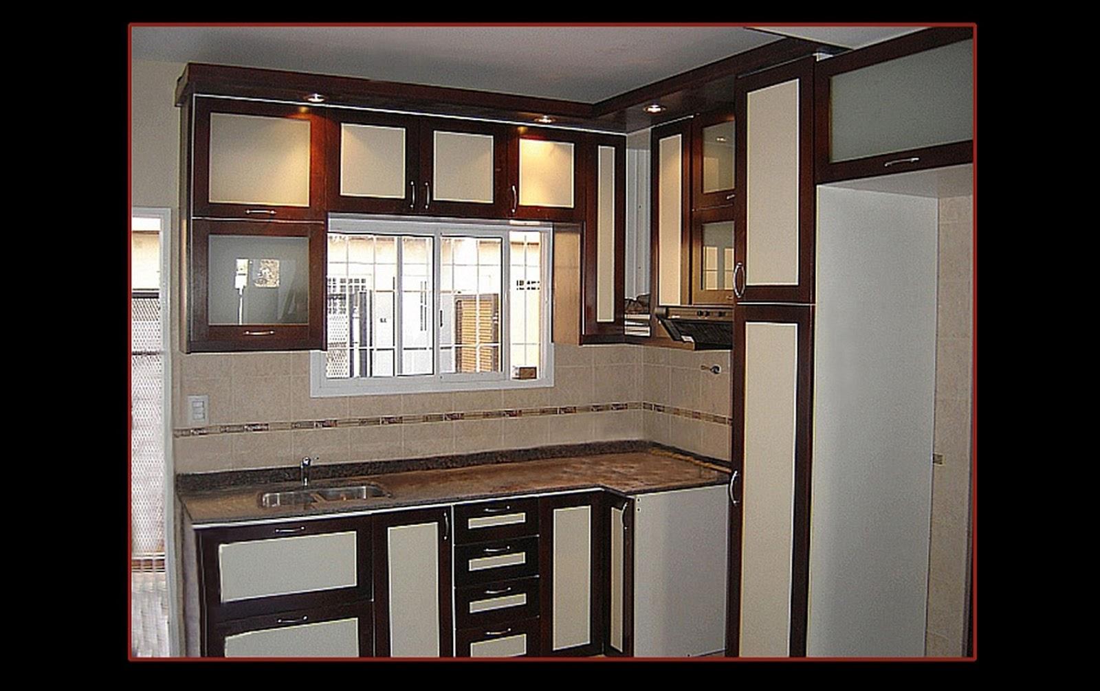 Cocina Almendra Y Cedro Lustrado La Carpinteria De Daniel # Muebles Cedro Y Nogal