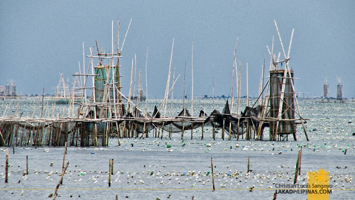 Fish Pens at Mukas Port