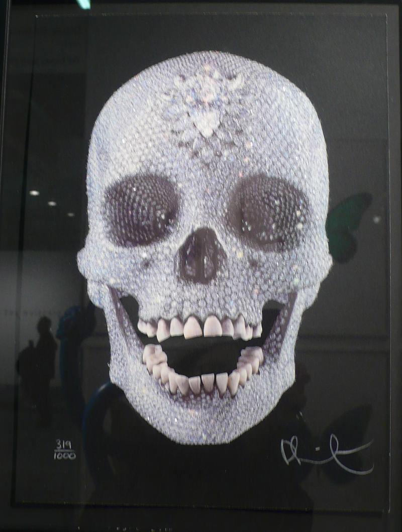 Crushed Skull Diamond-...