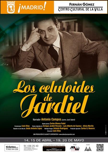 Los Celuloides de Jardiel, en el Fernán Gómez