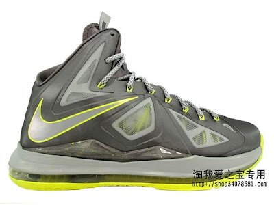 nike lebron 10 gr canary 3 12 2013 Nike LeBron X Yellow Diamond Canary   New Photos