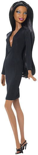 Barbie Basics LBD #10: foto del prototipo que aparece en BarbieCollector.com