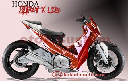 Modifikasi Extriem Motor Honda Supra X 125 i