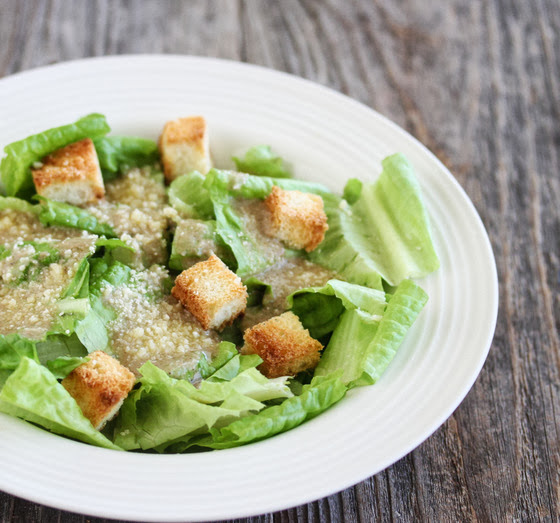 close-up photo of a Caesar Salad Dressing