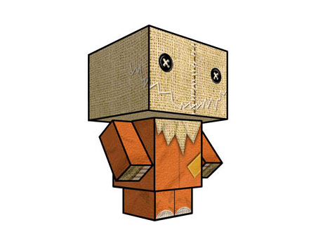 Trick R Treat Papercraft Sam