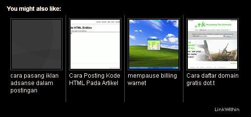 ILMU KOMPUTER: Membuat artikel terkait dengan gambar
