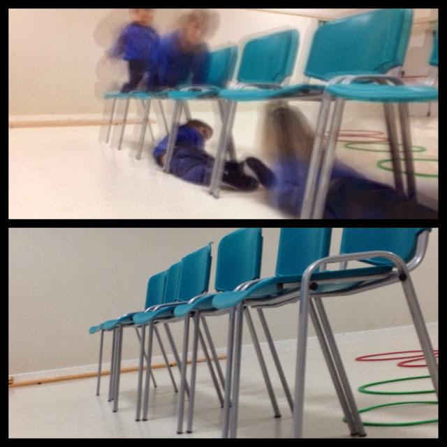 Psicomotricidad. Circuitos   en las aulas de 4 años