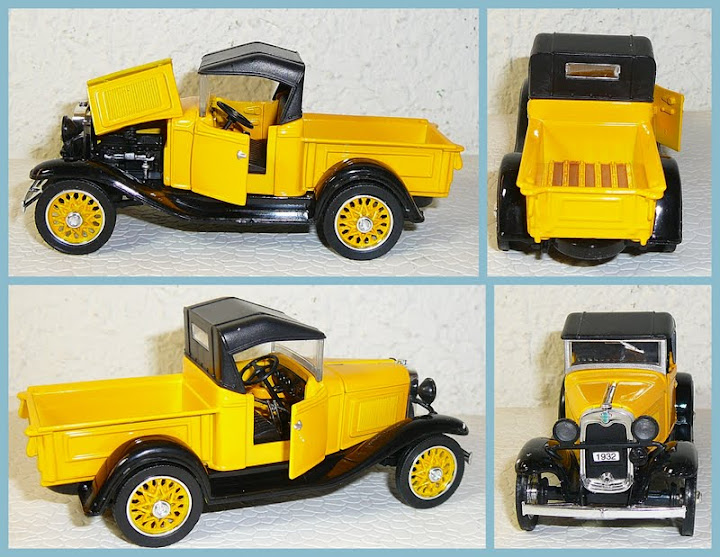 National Motor Museum Mint 1 32 Scale 1932 Chevy Roadster Pickup Open Cab