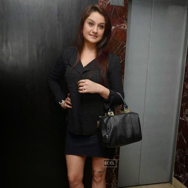 Sonia Agarwal attends the launch party of newly opened pub 'Small World' in Chennai.
