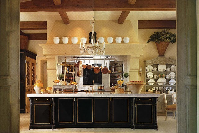 The crowning touch in the kitchen range hoods the French country kitchen decor