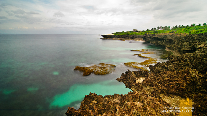 The Cliff at Patar Beach in Bolinao