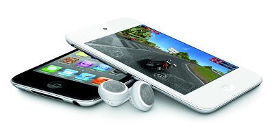 iPod touch 第4世代 ホワイトモデル/ブラックモデル