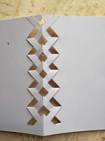 how to make a braided card