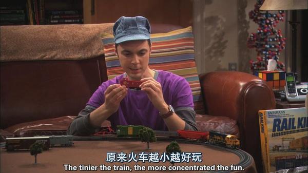 sheldon+train 人們為甚麼喜歡Sheldon