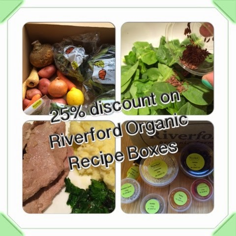 25% Off Riverford Organic Recipe Boxes
