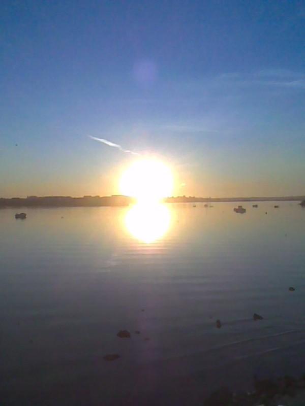 last sunset..
