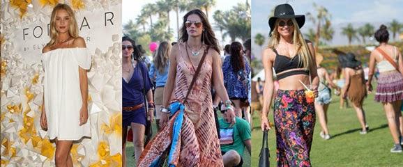 Veja Moda inspirada nos festivais