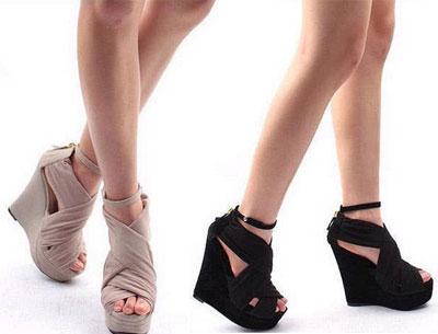 รองเท้าแฟชั่นสันเตารีด