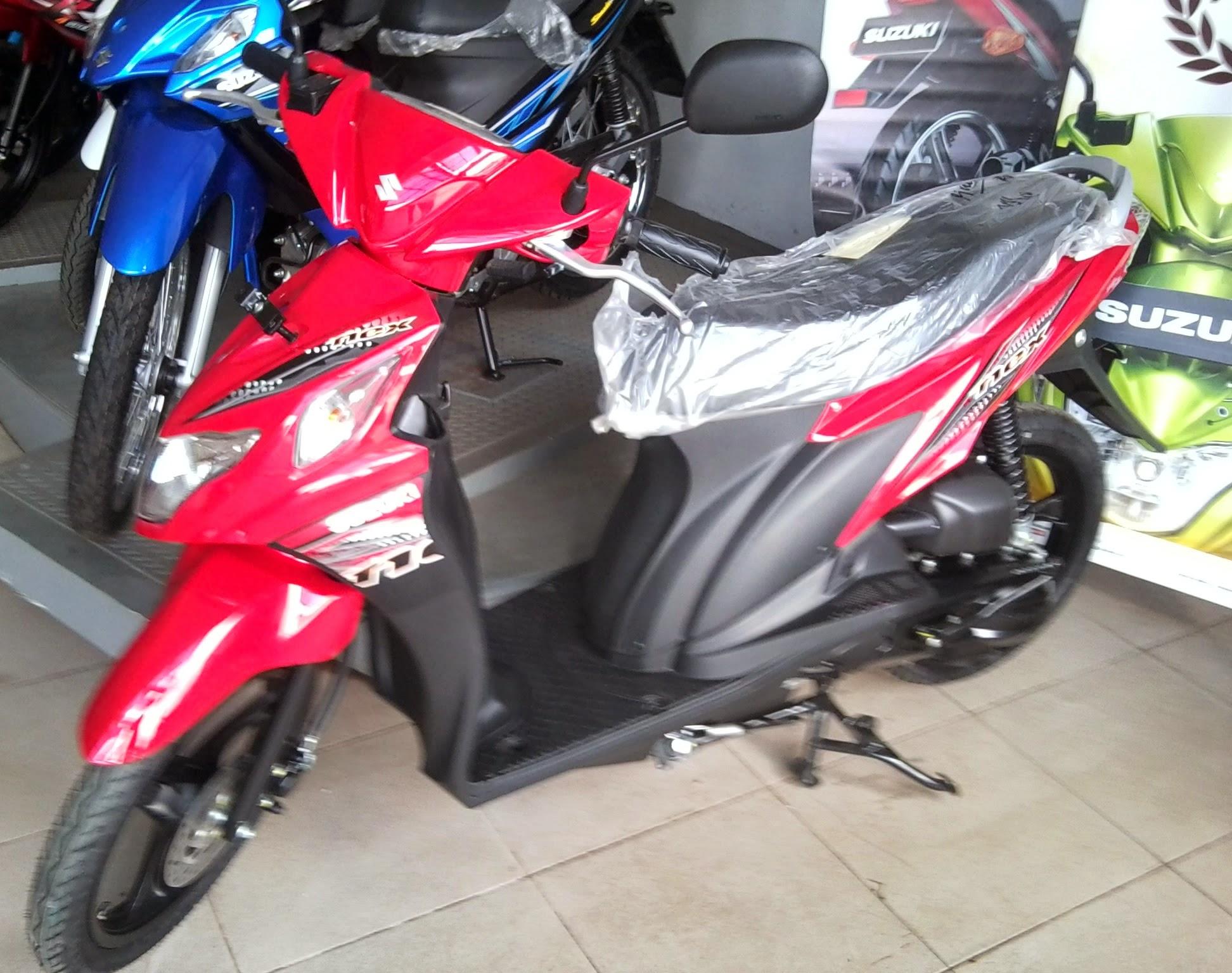 Foto Modifikasi Motor Suzuki Nex