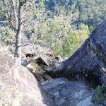 Looking down the climb from Pisgah Rock (143907)