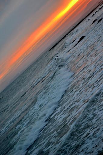 Закат на Муйне