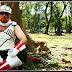 Cosplaying as Hachibi (Killer Bee) from Naruto Shippuden