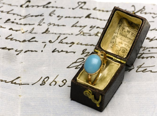 Jane Austen aranygyűrűje