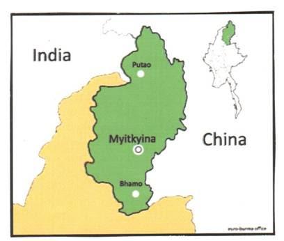 Kachin State (Source-EBO Analysis Paper No.2/2010).