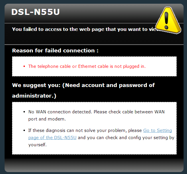 Why does the DSL connection keep disconnecting?