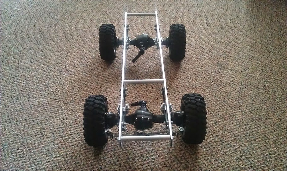 Homemade Simple Truck Chassis With Drill Motor Archive Scale