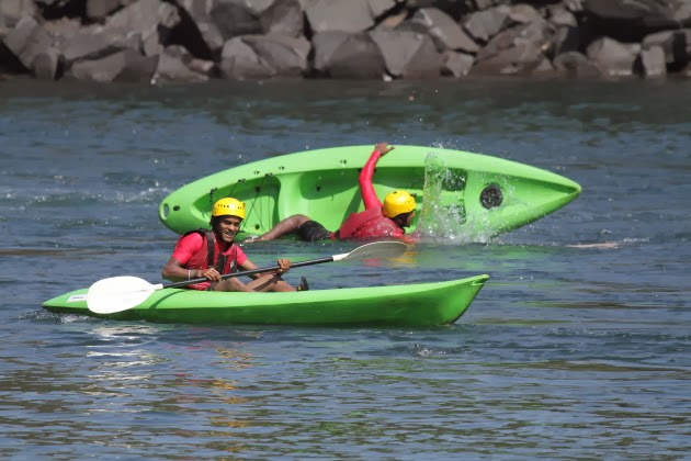 Kayaking is fun on Dandeli's Kali river