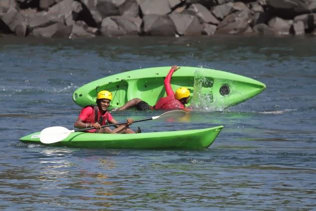 Kayaking is fun on Dandeli's Kali river