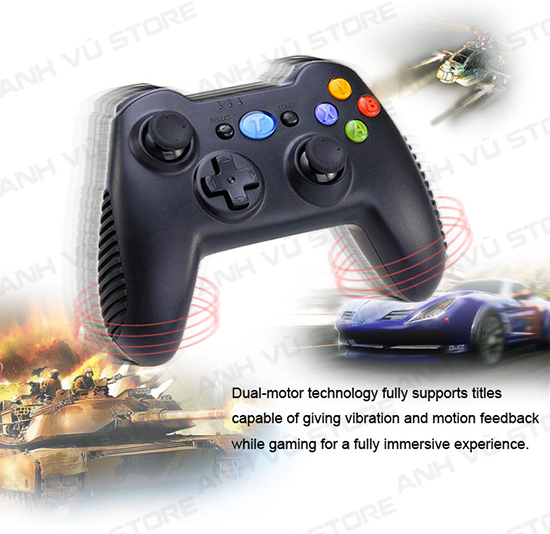 Tronsmart Mars G01 2.4GHz Wireless Gamepad Tay Game Cho Android TV BOX 23