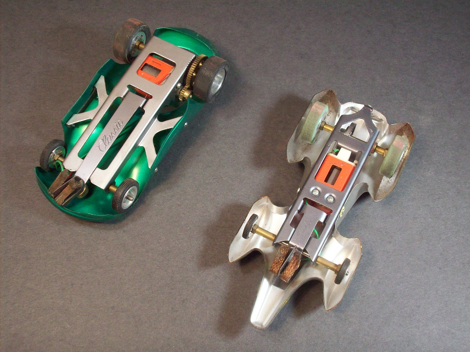 No Message Here!!!: 1960's Slot Cars
