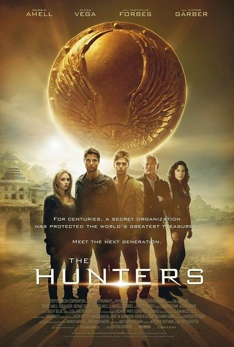 Poster Of English Movie The Hunters (2013) Free Download Full New Hollywood Movie Watch Online At alldownloads4u.com