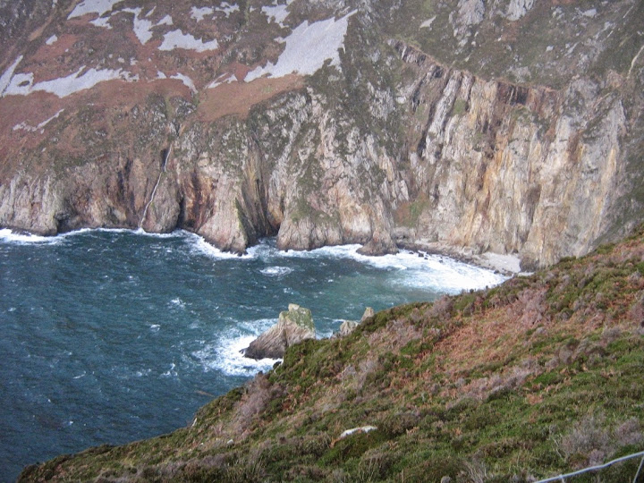 Slieve League Cliffs. From Driving Ireland's Wild Atlantic Way