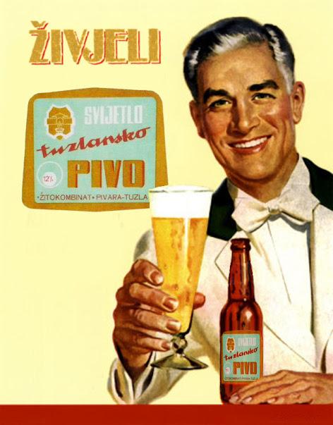 Pilsner beer Tuzla