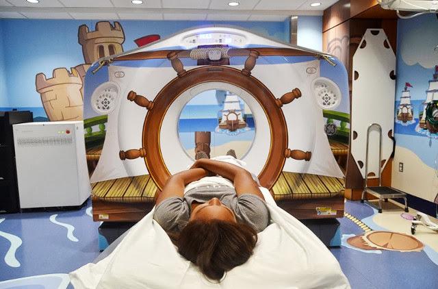#全身掃瞄儀器不再冷冰冰:The Pirate Themed Scanner Hospital ! 2