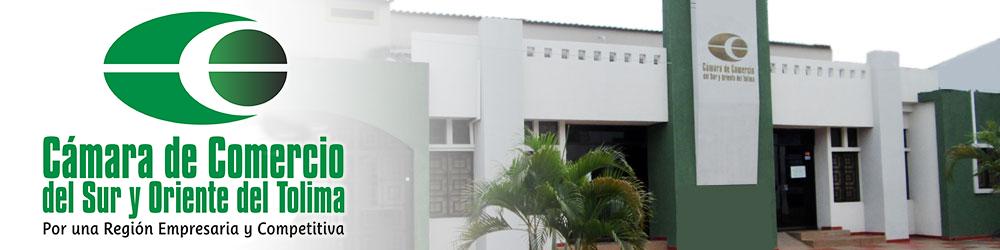 Cámara Comercio Sur y Oriente del Tolima