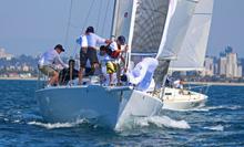 J/105s sailing SoCal Champs- San Diego, CA