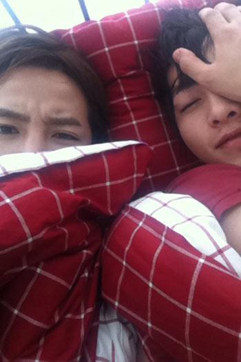 ชายใดนอนอยู่กับ Jang Geun Suk !!!