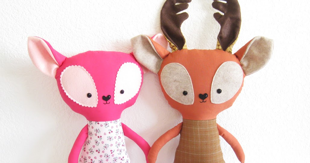 Stuffed Deer Toy For Dogs