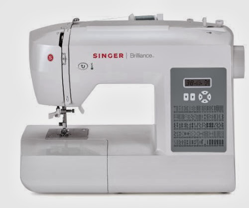 SINGER 40 Brilliance 40Stitch Computerized Sewing Machine Top Delectable Sewing Machine Reviews 2012